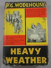 HEAVY WEATHER P G WODEHOUSE 1933 LITTLE BROWN HARDCOVER 1ST ED DJ