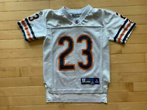 Devin Hester Chicago Bears Reebok Football Jersey Youth Size Boys Sz S White