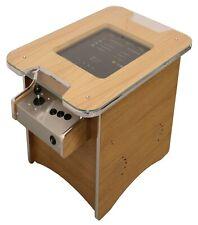 Retro Arcade Cocktail Table Machine With 60 retro games - Oak Veneer