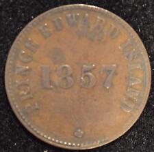 1857 Self Government & Free Trade Token, PE-7 C2, pg. 15, XF Prince Edw. Isl. #1