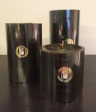 Engels Kerzen Stumpen Kerze gegossen/durchgefärbt 80/120 col.091 Espresso NEU