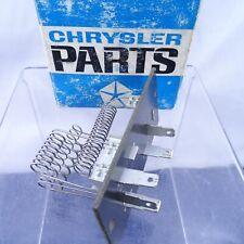 NOS Blower Motor Resistor 1972 Chrysler Plymouth Dodge Imperial C-Body 3502119