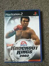 Playstation 2 PS2 Knockout Kings 2002 BOXED COMPLETE