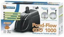 Superfish Pond flusso Eco 1000 (12W) MULTIUSO Fontana Pompa Stagno E Filtro