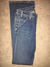 YANUK Women's Worker Boyfriend Distressed  Jeans ~ Size 25 x 34  Free Shipping