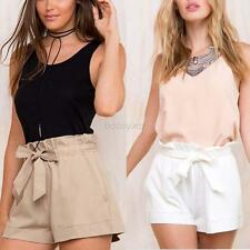 Women Cozy High Waist Shorts Summer Casual Loose Short Pants Trousers