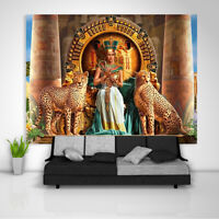 egypt Pharaoh Tapestry Art Wall Hanging Sofa Table Bed Cover Home Decor