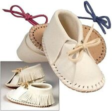 """3-1/2"""" Easy-Fit BABY SHOE MOCCASIN KIT 4608-00 Tandy Leather Boy Girl Shoes Kits"""
