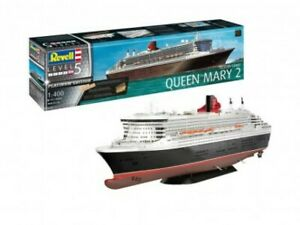 Revell of Germany 05199 1:400 Queen Mary 2 Platinum Edition Plastic Model Kit