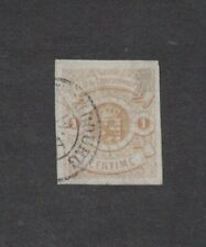 Luxembourg 4 - Coat Of Arms Imperf Single. Used.    #02 LUX4