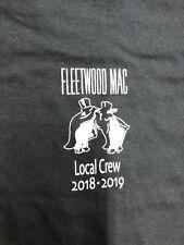 Vintage T Shirt - Fleetwood Mac Local Crew 2018 - 2019 Gildan Size Xl black