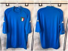 Italy 2002/04 Home International Soccer Jersey Xl Kappa
