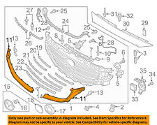 MAZDA OEM 16-18 CX-9 Front Bumper Grille-Lower Molding Trim Right TK50507J1A
