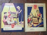2 Protege Cuaderno Publicidad Philips Joie Y Confort En La Casa C.1950