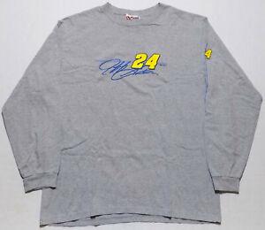 Chase Authentics Jeff Gordon NASCAR Long Sleeve T-Shirt Mens Size Large