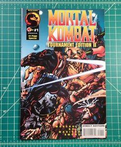 Mortal Kombat Tournament Edition II #1 (1995) Malibu Comic Rare Low Print HBOMax