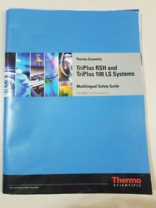 Thermo Scientific TriPlus RSH/100 LS Systems Multilingual Safety Guide 31709600
