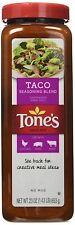 Tone's Taco Seasoning Blend 23 oz