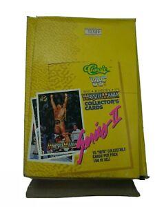 1990 Wrestlemania Wrestling Trading Cards Classic Packs Box Vintage WWF Series 2