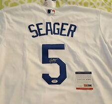 Corey Seager signed LA Dodgers Majestic cool base jersey PSA/DNA # AC79254