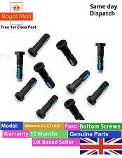 10x Replacement Pentalobe Bottom Screw For Apple iPhone 6 6s 7 7+ 5 5s SE Black