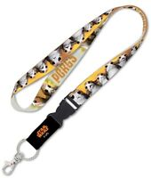 "Star Wars Porgs New Trilogy 1"" Lanyard with Detachable Buckle"