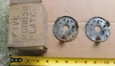 2 NEW DISTRIBUTOR CONTACT BREAKER PLATES 1936-48 OLDS +PONTIAC PACKARD GMC
