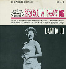 DAMITA JO (I'll Save The Last Dance For You) POP 33 RPM  RECORD