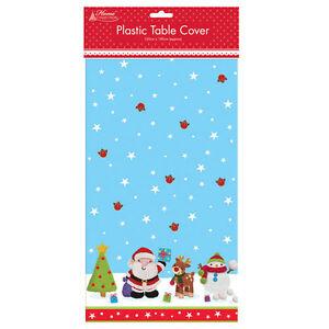 Table Cloth CHRISTMAS NOVELTY PATTERN PLASTIC TABLE CLOTH  VINYL