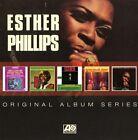 ESTHER PHILLIPS - ORIGINAL ALBUM SERIES 5 CD NEU