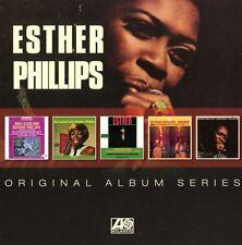 Esther Phillips-ORIGINAL ALBUM SERIES 5 CD NUOVO