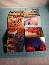 Native American Post Cards - 16 Postcards in 8 Different Native Am. Designs, NEW