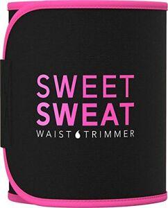 Sweet & Sweat Premium Waist Trimmer For Men & Women Sports Workout Girdles Neo