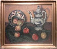 Einer Johansen 1893-1965: Stilleben mit Äpfeln