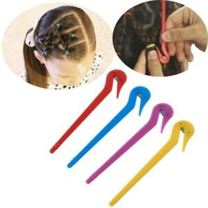 4Pcs Elastic Hair Bands Remover Pony Picks Cutting Hair Ties Ponytail Removers