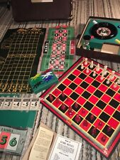 1944 Lowe Casino Gambling Game Set, Players Choice 8 Favorite Games: Complete