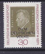 Germany 1053 MNH OG 1971 Friedrich Ebert 1st President of the German Empire