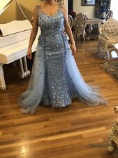 European Women's Prom Dresses Long Sequins Formal Evening Dresses Ball Gowns