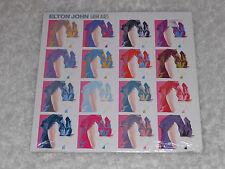 ELTON JOHN  Leather Jackets  LP SEALED CUTOUT HOLE IMPORT CANADA