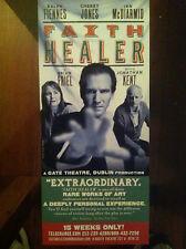 Faith Healer  ad/flyer theatre Ralph Fiennes Cherry Jones NYC closed