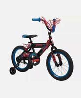 "Huffy Marvel Spiderman Children Bike Kids Bicycle 16"" Bike for Kids 4+ years"