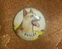 """1953 Bullet Post's Cereal Advertising Pin Pinback Button 7/8"""""""