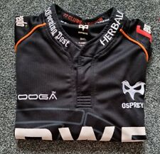 Ospreys Rugby Home Shirt 2013-14, By Kooga - Small/ Used