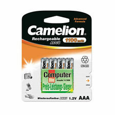 4 x Camelion Akku AAA Micro 1100mAh NiMH 4er Blister wiederaufladbare Batterien