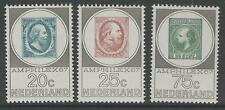 NETHERLANDS SG1035/7 1967 AMPHILEX STAMP EXHIBITION MNH