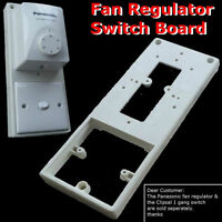Fan Regulator or Motor Speed Controller Switch Board or Base Or Mounting DIY