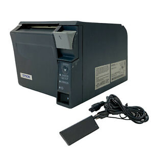 Epson TM-T70 M225A POS Receipt Direct Thermal Printer Serial with AC Adapter