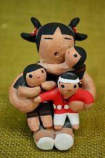 Mexican Pottery Folk Art Margaret Quintana Storyteller Mom 3 Kids Taos Pueblo NM