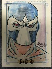 Bane Rittenhouse Batman Archives Sketch Card by Steve Russell 1/1