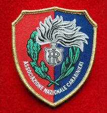 Patch Toppa A.N.C. Ass. Naz. Carabinieri velcro TELATA Alta Definizione
